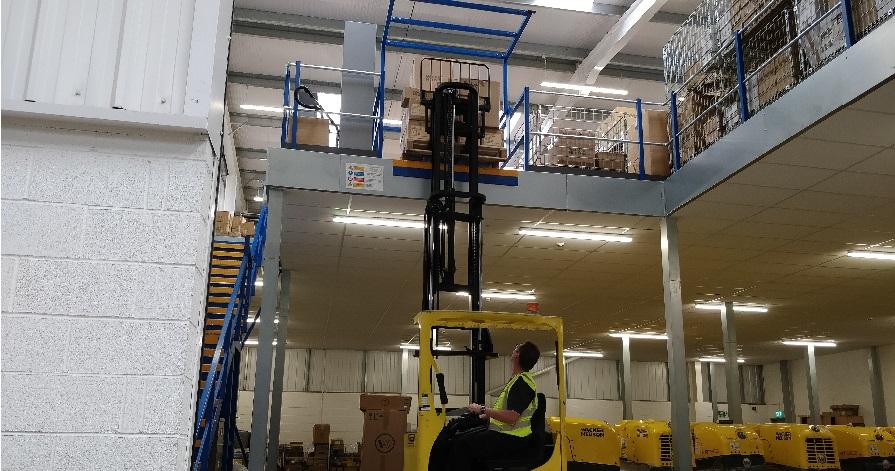 Tilting Safety Barrier