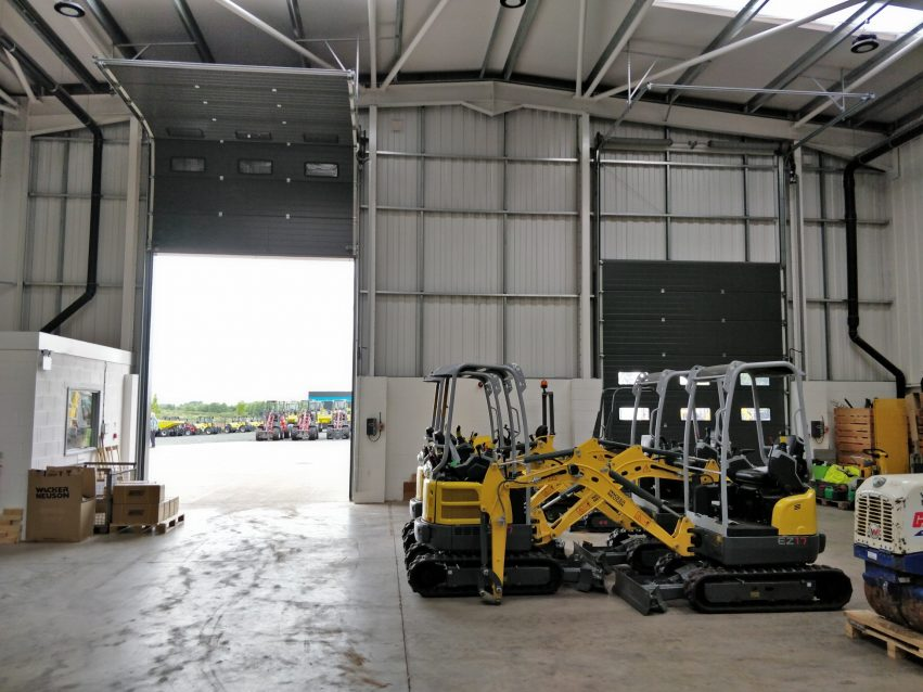 Cut Costs With Energy Saving Warehouse Doors