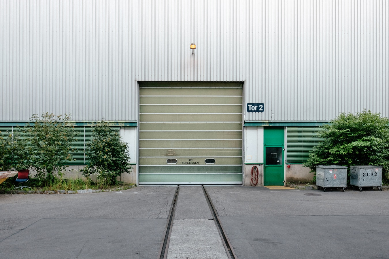 folding warehouse door