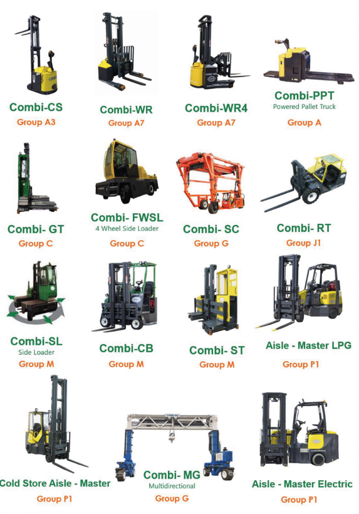 Every Combi product is licensed and classified