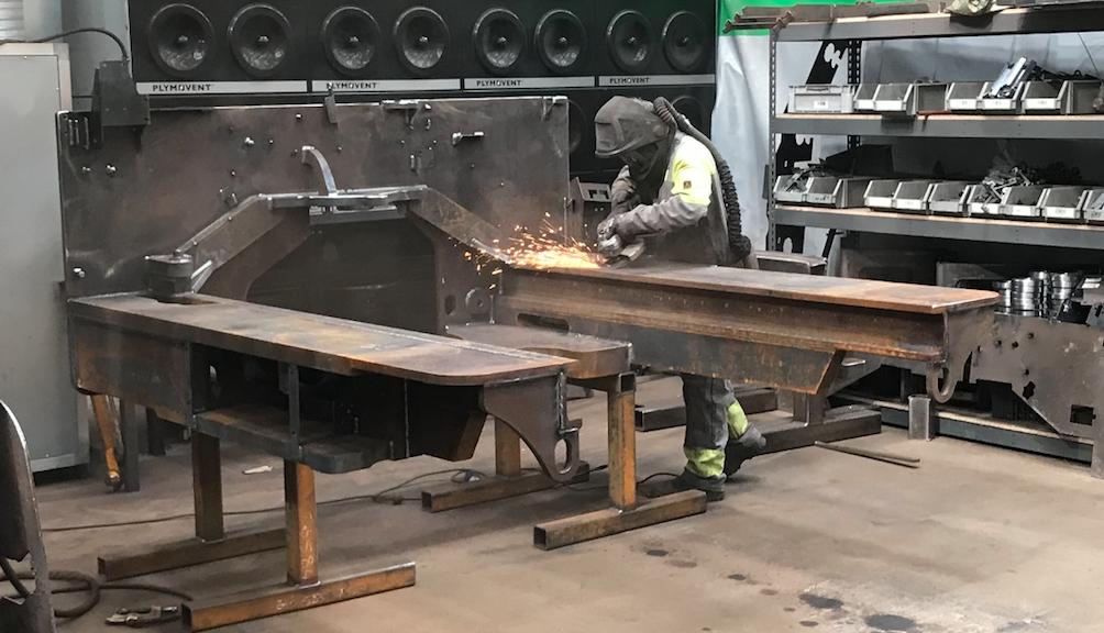 combi welding bay