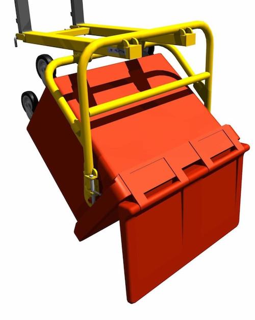 wheelie bin lifter