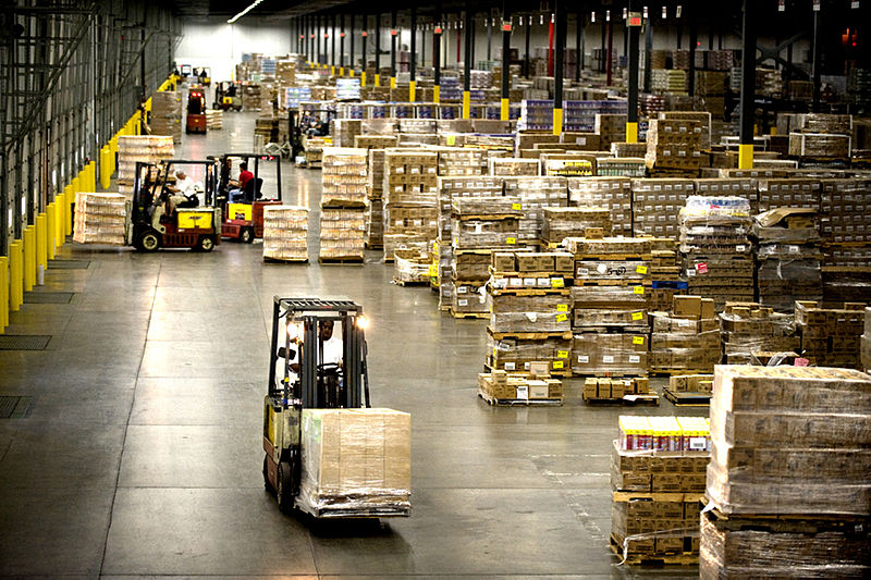 Insane Logistics Behind the Run-up to Christmas