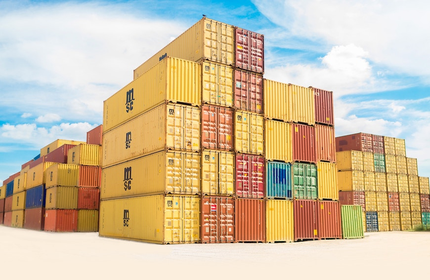 Shipping Containers Make Dramatic Difference to the Industry