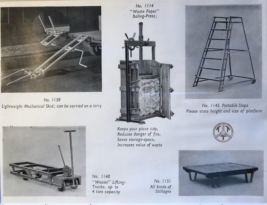 pallet truck in the old days