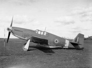 Mustang III at Hucknall 1943