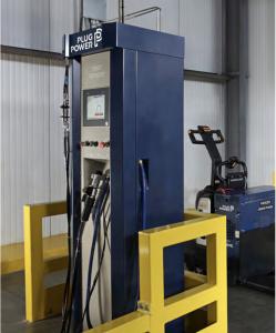 hydrogen fuel plug power