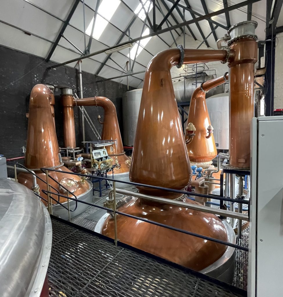 Copper Distilling Tanks